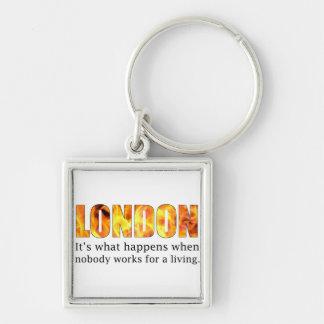 London Riots 2011 Key Chain