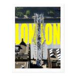 London River Thames Postcard