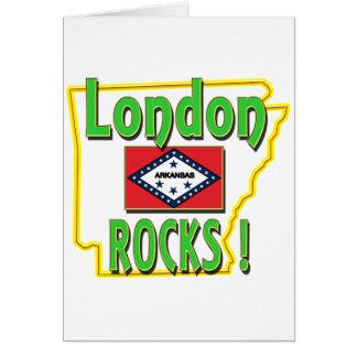 London Rocks ! (green) Card