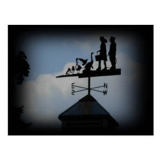London roofs postcard
