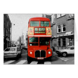 London Routemaster Bus Greeting Card