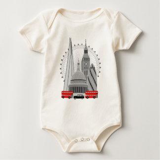 London Scene Baby Bodysuit