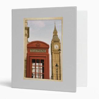 London Scrapbook 3 Ring Binder
