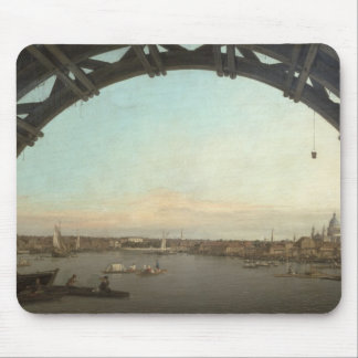 London seen through an arch of Westminster Mouse Pad