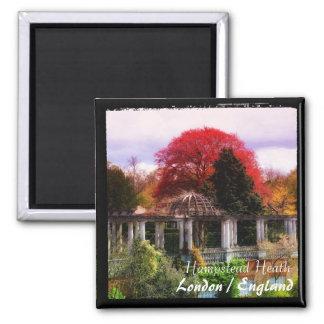 London Sights - Pergola, Hampstead Heath (Magnet) Magnet