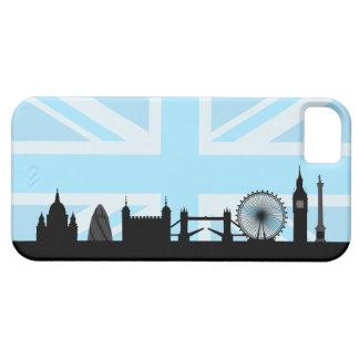 London Sites on Blue Union Jack Sky iPhone SE/5/5s Case