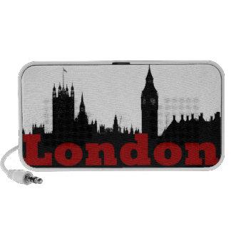 London Sketch iPhone Speaker