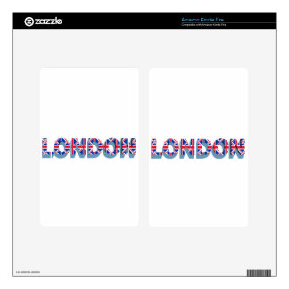 London Skin For Kindle Fire