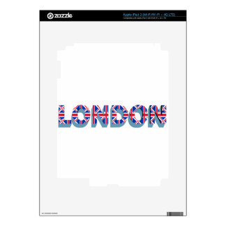 London Skins For iPad 3