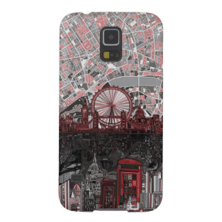 london skyline abstract galaxy s5 cover