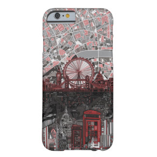 London Skyline Abstract I Phone 6 Case Barely There iPhone 6 Case