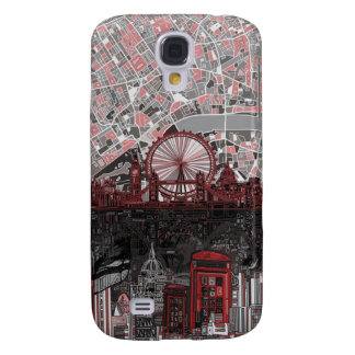 london skyline abstract samsung galaxy s4 cover