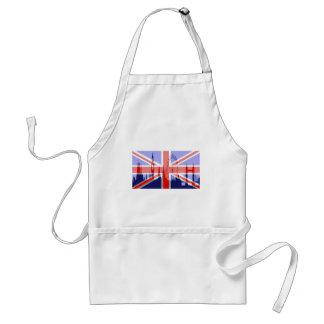London skyline adult apron
