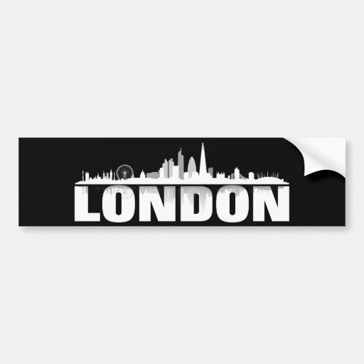 London skyline autostickers car bumper sticker