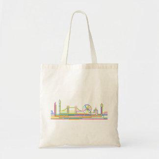 London Skyline Budget Tote Bag
