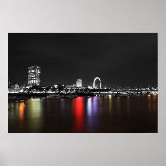 London skyline coloursplas posters