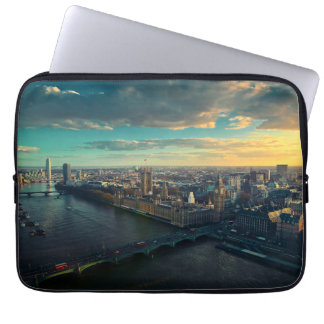 London skyline computer sleeve