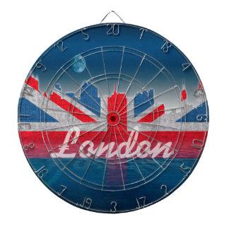London skyline dart board