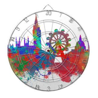 London skyline dartboard