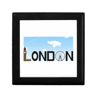 London Skyline Daytime Keepsake Box