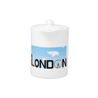 London Skyline Daytime Teapot