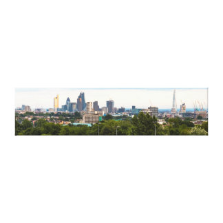 London Skyline from Hampstead Heath Gallery Wrapped Canvas