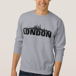 London skyline hood sweaters