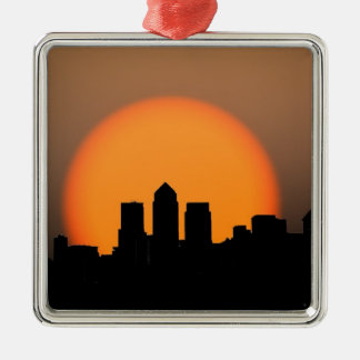 London skyline metal ornament