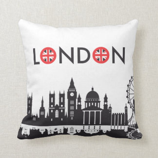 London Skyline Pillow