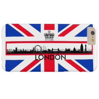 London Skyline Union Jack Flag iPhone 6 Plus Case
