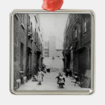 London Slums, 1899 Christmas Ornaments
