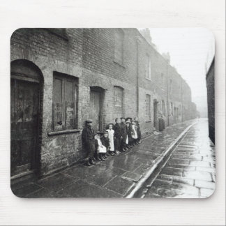 London Slums, c.1900 Mouse Pad