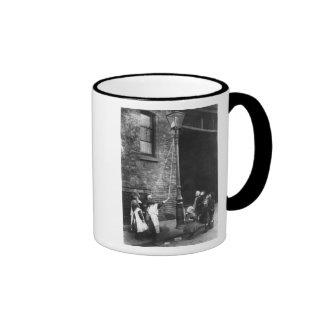 London Slums, c.1900 Coffee Mugs