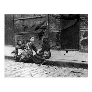 London Slums, Twine Court Postcard