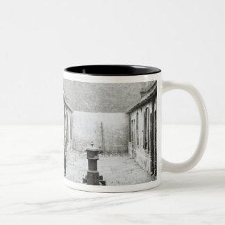 London Slums Two-Tone Coffee Mug