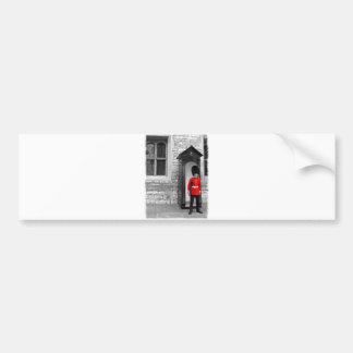 London Soldier Parade bumper sticker