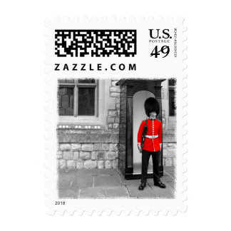 London Soldier Parade Postage