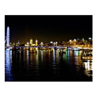 London South Bank Cityscape Postcard