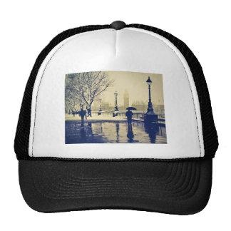 London south bank winter vintage shot trucker hat