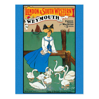 London South Western Railway Weymouth Postcard