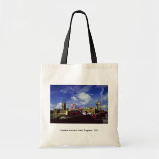London souvenir stall, England, U.K. Tote Bag