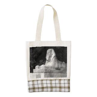 London Sphinx Zazzle HEART Tote Bag