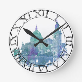 London St. Paul's Cathedral Round Clock