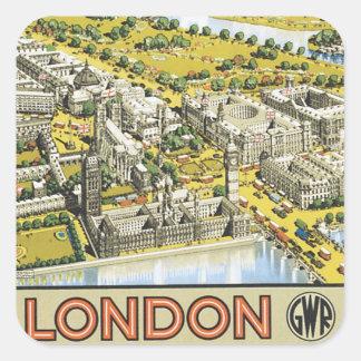London Square Sticker