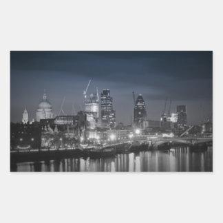 London Rectangular Sticker