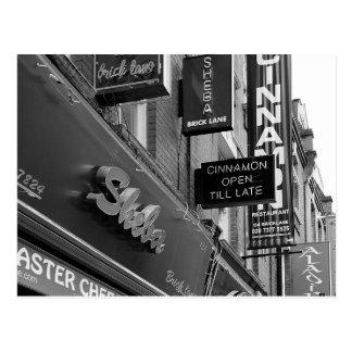 London Stores Postcard