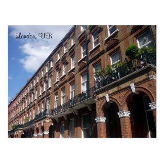 london street postcard