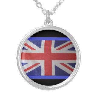 london street round pendant necklace