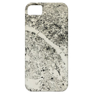 London Streets and Buildings Vintage Map iPhone SE/5/5s Case