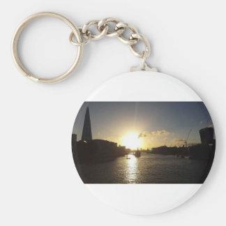 London Sunset Keychain